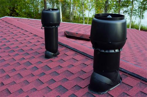 Выход канализационной системы на крышу