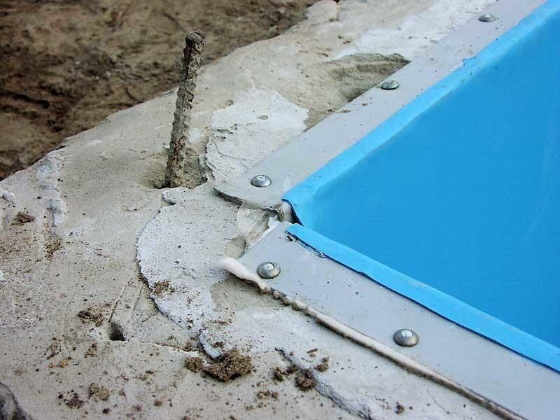 Гидроизоляция бассейнов мембраной гидроизоляция фольгированный цена
