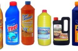 Химические средства против засоров