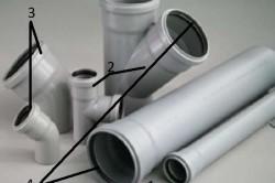 Материалы для замены внутриквартирной канализации