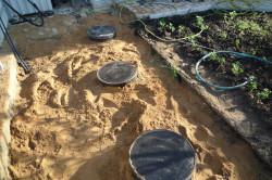 Герметизация бетонных колец