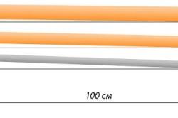 Уклон зависит от диаметра труб.
