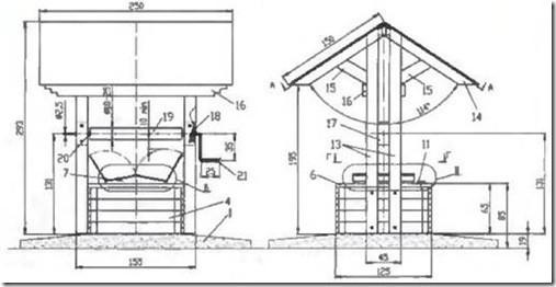 Колодезный домик своими руками чертежи 52