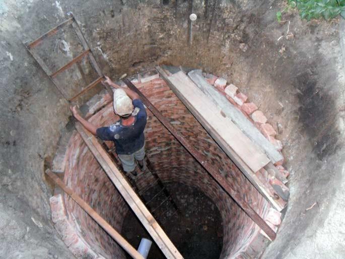 Выгребная яма на даче своими руками фото 581