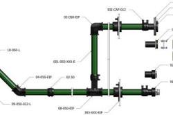 Схема соединения полиэтиленовых труб