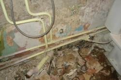 Демонтаж труб