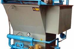 Канализационная установка пенно-флотационной сепарации (флотатор напорный)