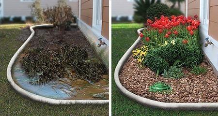 Близлежащие грунтовые воды и чрезмерные осадки могут привести чрезмерно влажной почве.