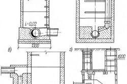 Схема установка канализационных колодцев