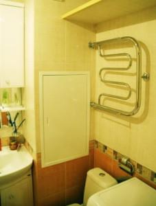 ванная с коробом для труб