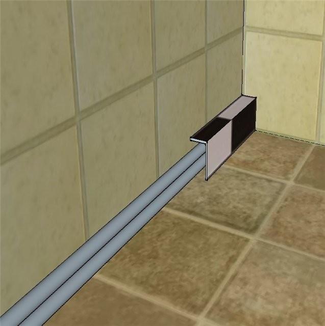 Как заделать трубы в ванной