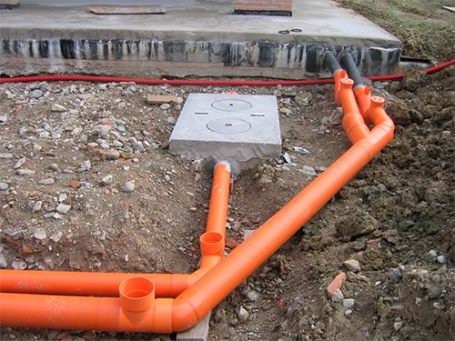 Прокладка наружней канализации в частном доме своими  862