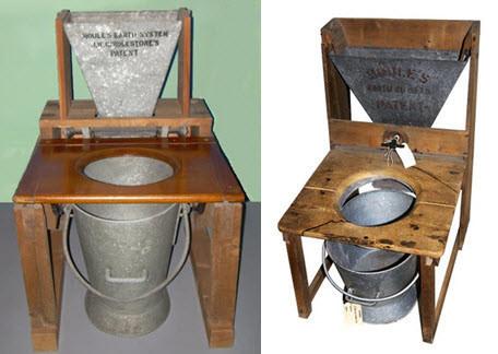 Первый биотуалет, изобретенный Генри Моулом стал прорывом в улучшении гигиены помещений.