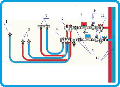 Редуктора давления воды схема фото 570