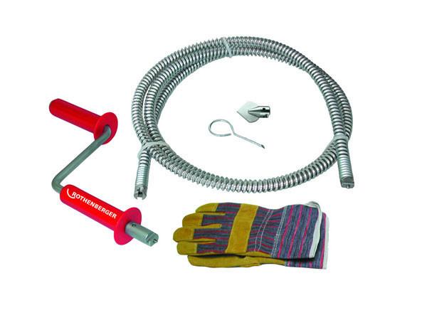 Ручное устройство для прочистки труб