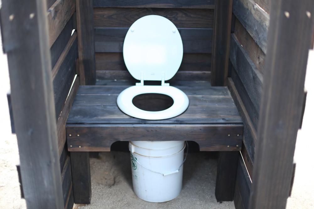 Туалет для дачи.