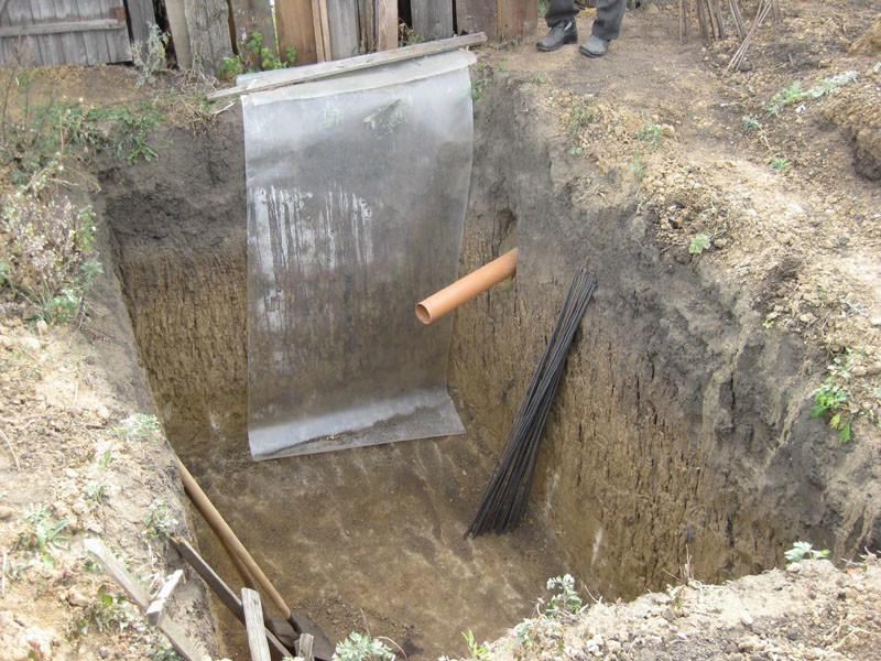 Как на даче сделать выгребную яму для туалета на даче своими руками