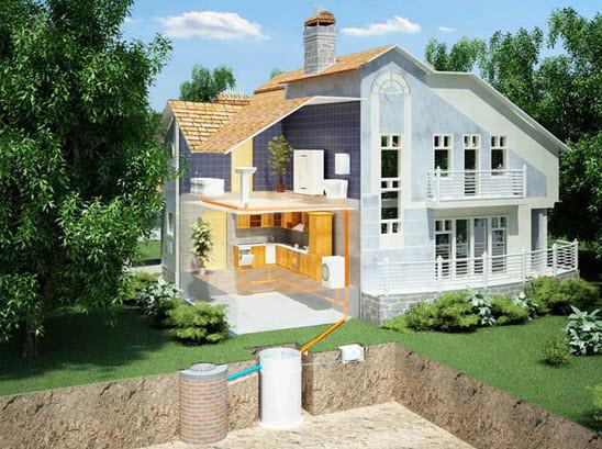 Септик – автономная канализация. Благодаря разным типам септиков, можно подобрать оптимальный вариант для любого вида загородной недвижимости, будь то дачный домик, или загородный коттедж.