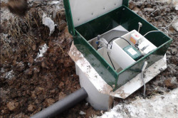 Септик-станция биологической очистки, предусматривает глубокую биологическую очистку. Имеет высокое качество очистки и возможность сброса очищенных сточных вод.