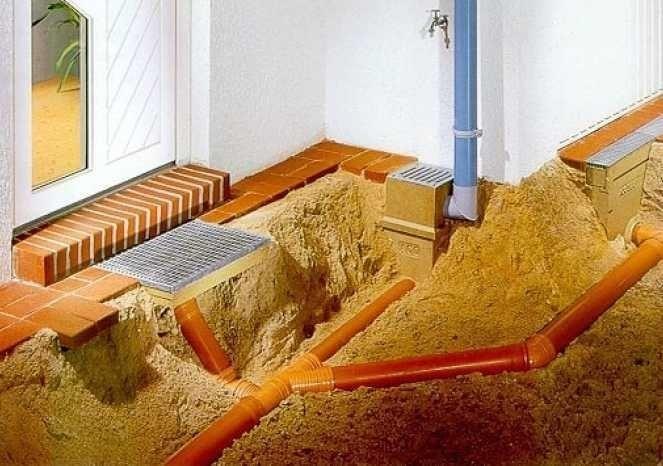 Если вы задумались построить ливневую канализацию, необходимо подумать: закрытого или открытого вида она будет.