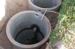 Ввод канализации в дом без подвала