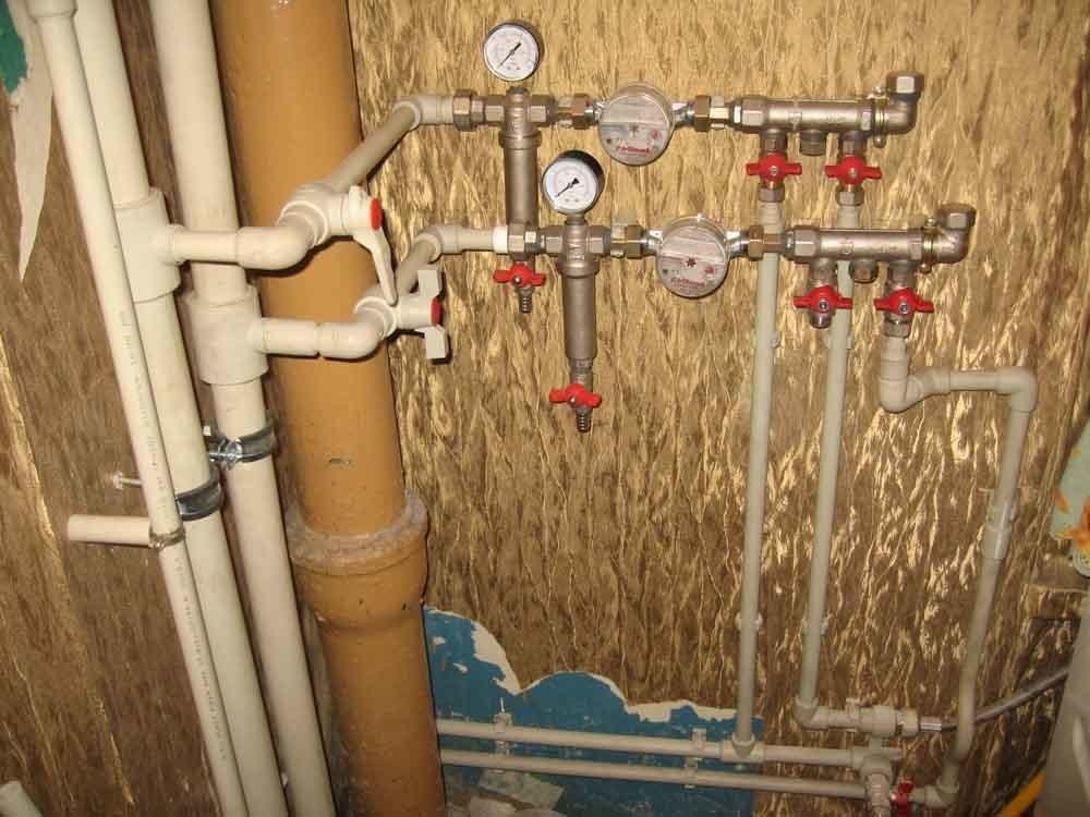 Водопроводный стояк