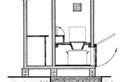 Схема установки дачного туалета