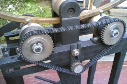 Ручной трубогиб для изделий большого размера
