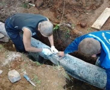 Утепление канализационных труб.