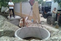 Необходимый объем канализационного колодца