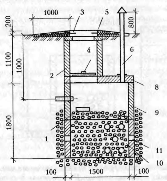 Переливной колодец для канализации схема фото 240
