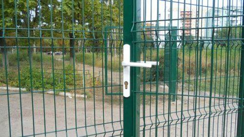 Забор с противокоррозионным покрытием