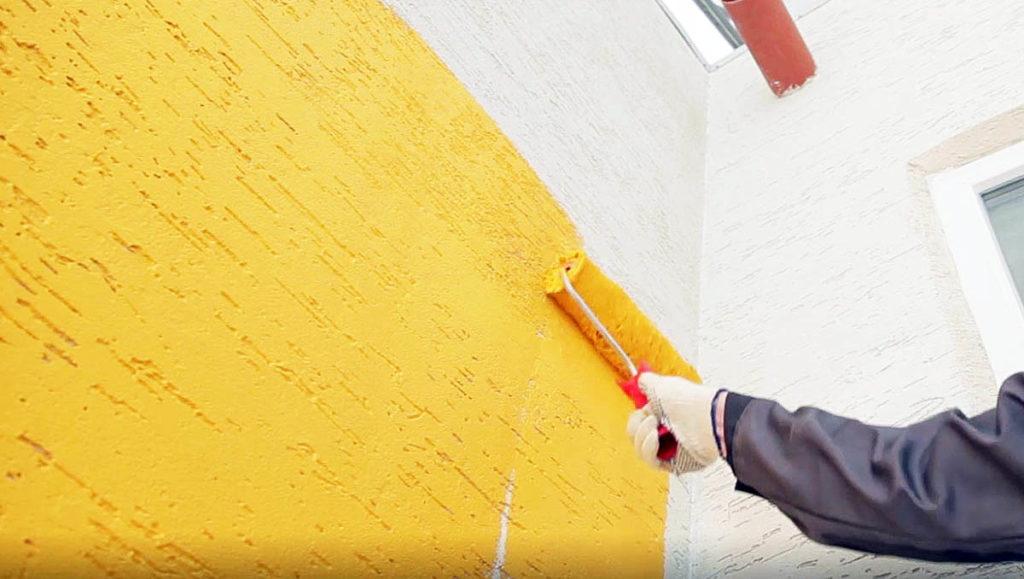 Как подобрать фасадную краску для штукатурки?